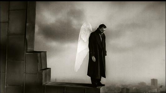 """immagine dal film """"Il cielo sopra Berlino"""""""