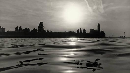 L'Isola di San Michele dall'acqua, Il Cimitero in cui è sepolto Brodskij. Copyright sulla foto Selina Zampedri