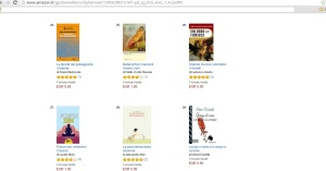 Classifica e - book di poesia in Amazon al 12-01-16